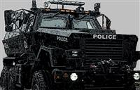 Extra Military Hardware? Paint it Black and Give it to the Police!